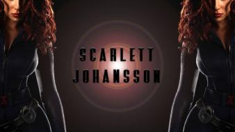 Scarlett johansson black widow avengers wallpaper