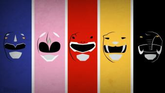 Superheroes power rangers blo0p wallpaper