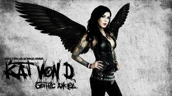 Women gothic kat von d wallpaper