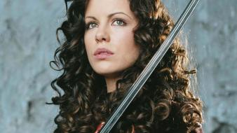 Women kate beckinsale van helsing wallpaper
