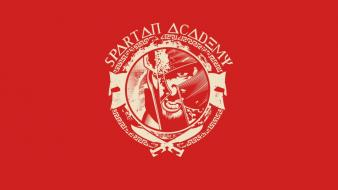 300 (movie) spartan academy Wallpaper