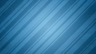 Abstract blue digital art lines simple wallpaper