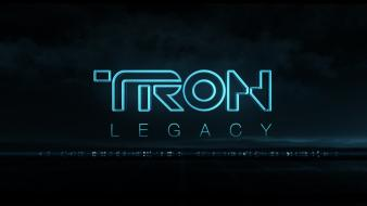Abstract video games tron legacy cities Wallpaper