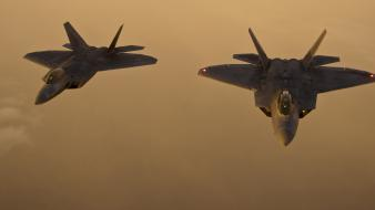 Airplanes f-22 raptor air force wallpaper