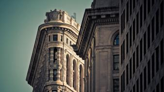 Architecture buildings new york city wallpaper