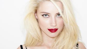 Blondes actress amber heard faces Wallpaper