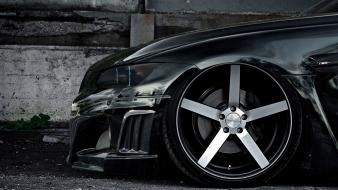 Bmw black cars tires wheel m3 Wallpaper