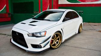 Cars tuning mitsubishi lancer evolution wallpaper