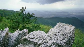 Clouds landscapes storm valley national park shenandoah virginia Wallpaper