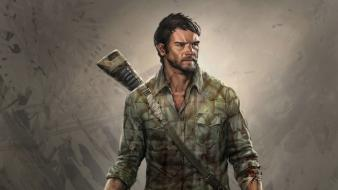 Concept art the last of us joel Wallpaper