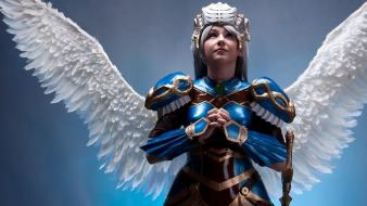 Cosplay valkyrie profile: lenneth angel wallpaper