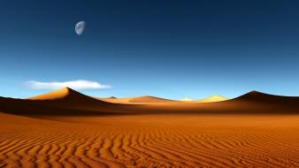 Desert dunes wallpaper
