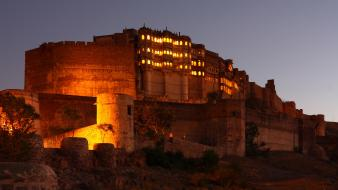 Fort jodhpur indian arts mehrangarh wallpaper