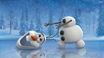 Frozen movie olaf wallpaper