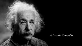 Great leader gray hair man relativity theory wallpaper