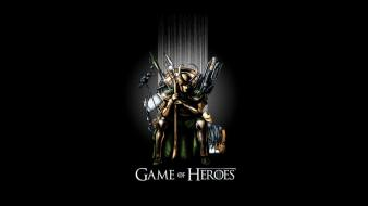 Heroes the avengers game of thrones loki wallpaper