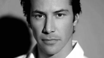 Men keanu reeves grayscale actors faces wallpaper