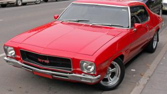 Red classic gts hq monaro aussie car wallpaper