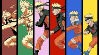 Sage mode uzumaki naruto panels colors chakra wallpaper