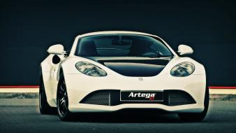 Sports cars white artega gt Wallpaper
