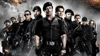 Sylvester stallone the expendables 2 van damme Wallpaper