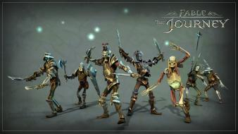Video games undead fable skeletons journey wallpaper