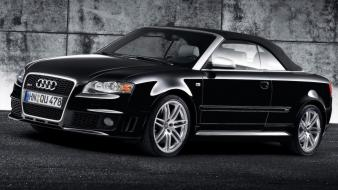 Audi Rs4 Black wallpaper