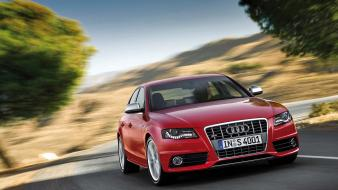 Audi S4 Front Speeding wallpaper