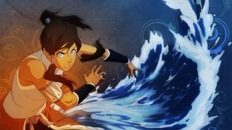 Avatar waterbender korra avatar: the legend of wallpaper