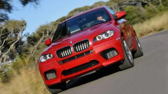 Bmw X6 M Front wallpaper