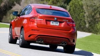 Bmw X6 M Rear Wallpaper