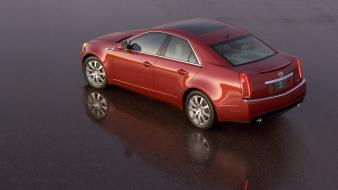 Cadillac Cts Red wallpaper