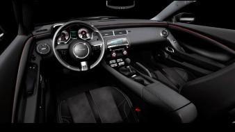 Camaro Black Interior Wallpaper