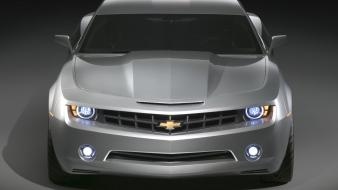 Camaro Concept Gray Front wallpaper