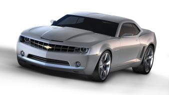 Cars concept art chevrolet camaro ss carshow wallpaper