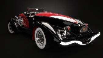 Cars digital art duesenberg 3d sj weimann speedster wallpaper