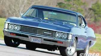 Cars muscle chevrolet 1967 impala super chevy magazine wallpaper