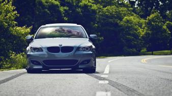 Cars roads bmw m5 Wallpaper