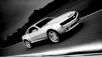 Cars top gear chevrolet camaro carshow Wallpaper
