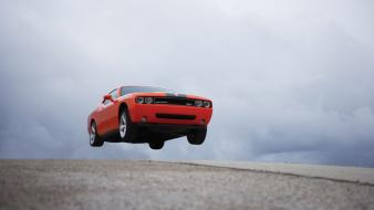 Challenger Srt8 Jump wallpaper