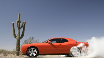 Challenger Srt8 Smoke wallpaper