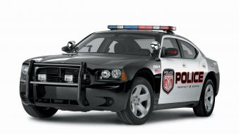 Charger Police Car Wallpaper