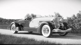Digital art duesenberg 3d sj weimann speedster Wallpaper