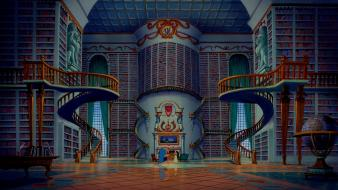 Disney company movies library beauty and the beast Wallpaper