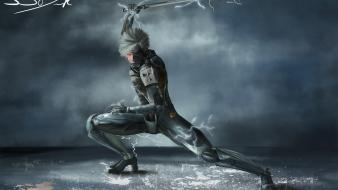 Eyes artwork raiden metal gear solid rising wallpaper