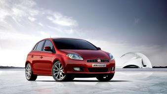 Fiat Bravo Red wallpaper