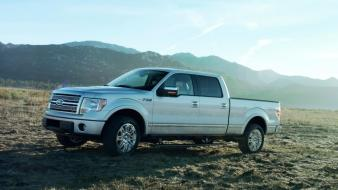 Ford F150 Silver Wallpaper