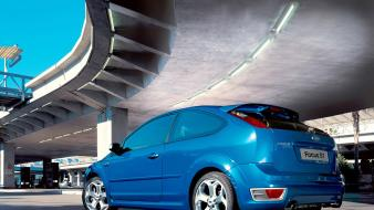 Ford focus st blue wallpaper