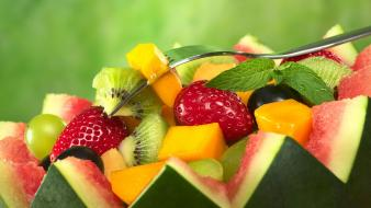 Fruits food melon wallpaper