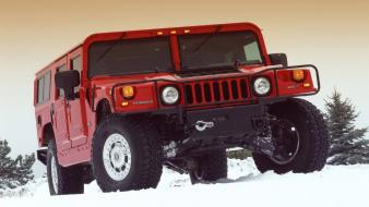 Hummer H1 Snow Wallpaper